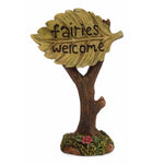 Welcome Leaf Sign