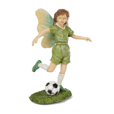 Fairy Playing Soccer