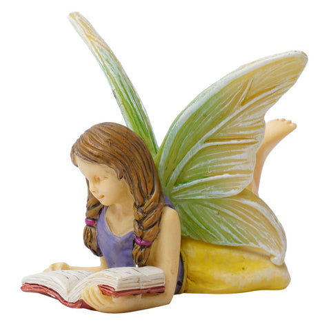 Fairy Reading a Book