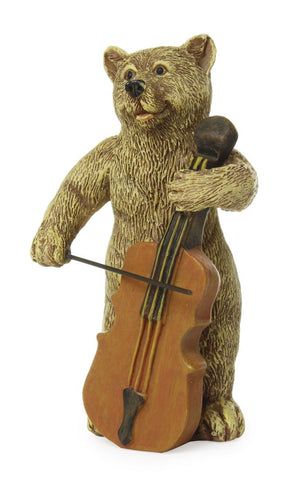 Animal/ Bear Playing Cello