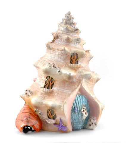 Sea Shell Shanty Fairy House
