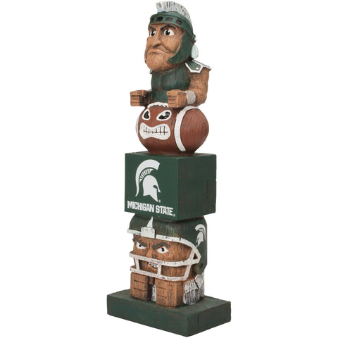 Michigan State Spartans Tiki Totem