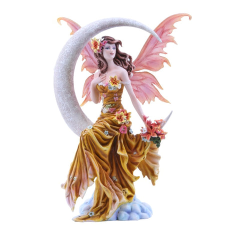 Earth Crescent Moon Fairy Figurine