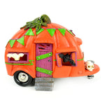 Light Up Pumpkin Camper