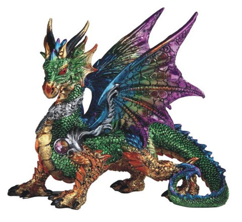 Jeweled Dragon Figurine