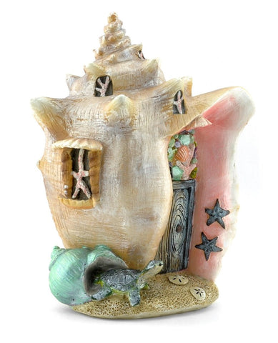 Conch Condo Fairy House