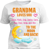 Custom Moon And Back With Grandkids Names - Discount Store Pro - 1