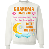 Custom Moon And Back With Grandkids Names - Discount Store Pro - 5