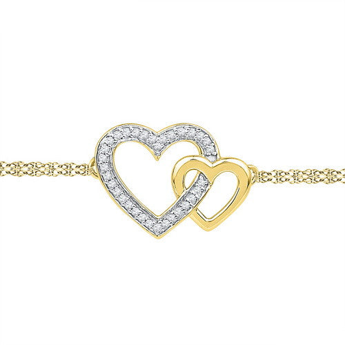 DIAMOND HEARtS FASHION BRACELET