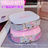 12000mAh HELLO KITTY PORTABLE CHARGER