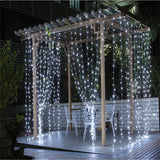 LED Outdoor String Fairy Curtain Christmas/Wedding