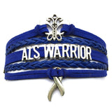 ALS Awareness Bracelet/ Custom Wording