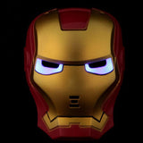 LED LIGHT IRON MAN MASK