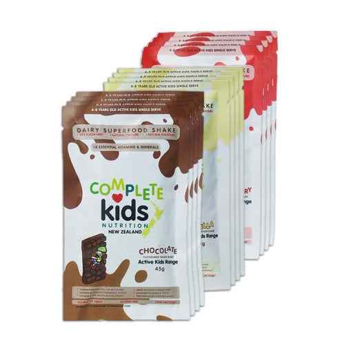 Active Kids - On the go multi pack - 12x 45g single serve sachets