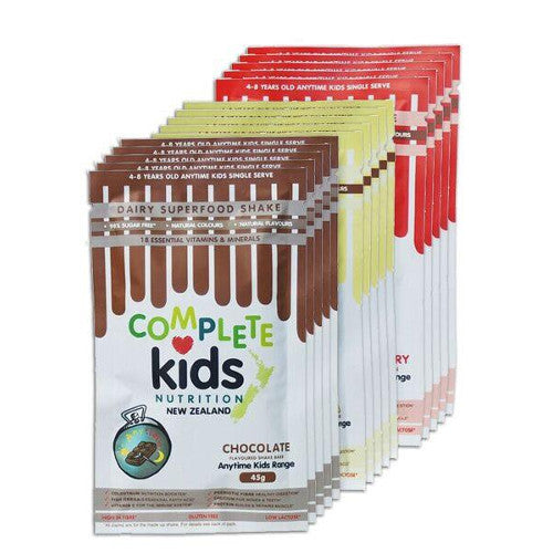 Anytime Kids - On the go multi pack - 12x 45g single serve sachets