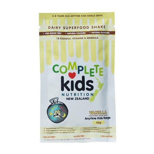 Anytime Kids 45g (single serve) Vanilla