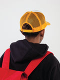 E - TRUCKER HAT YELLOW