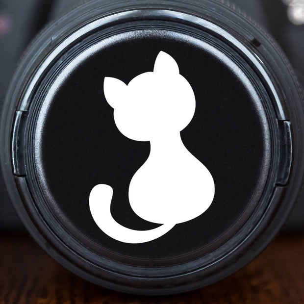 Cartoon Kitten Silhouette