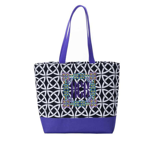Everyday Tote purple and Black