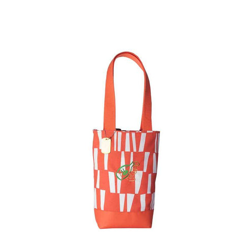 wine Tote orange