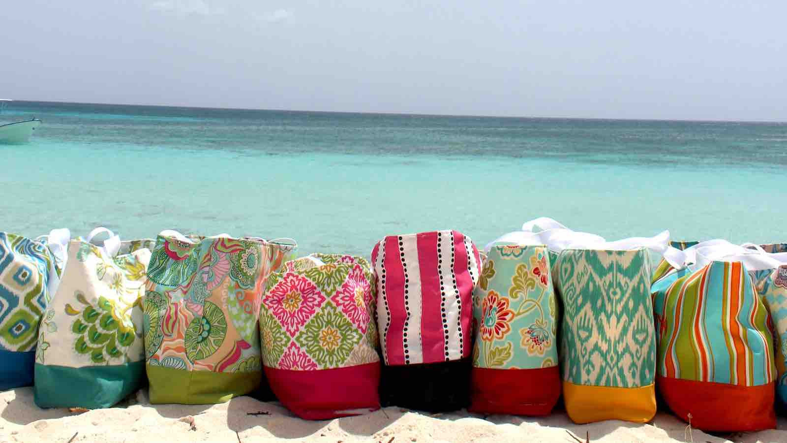 Aniusk Design Beach Totes