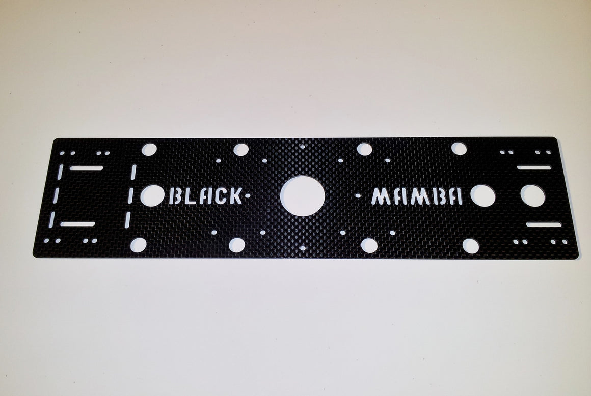 Black Mamba 375 Carbon Fiber Top Plate - V1