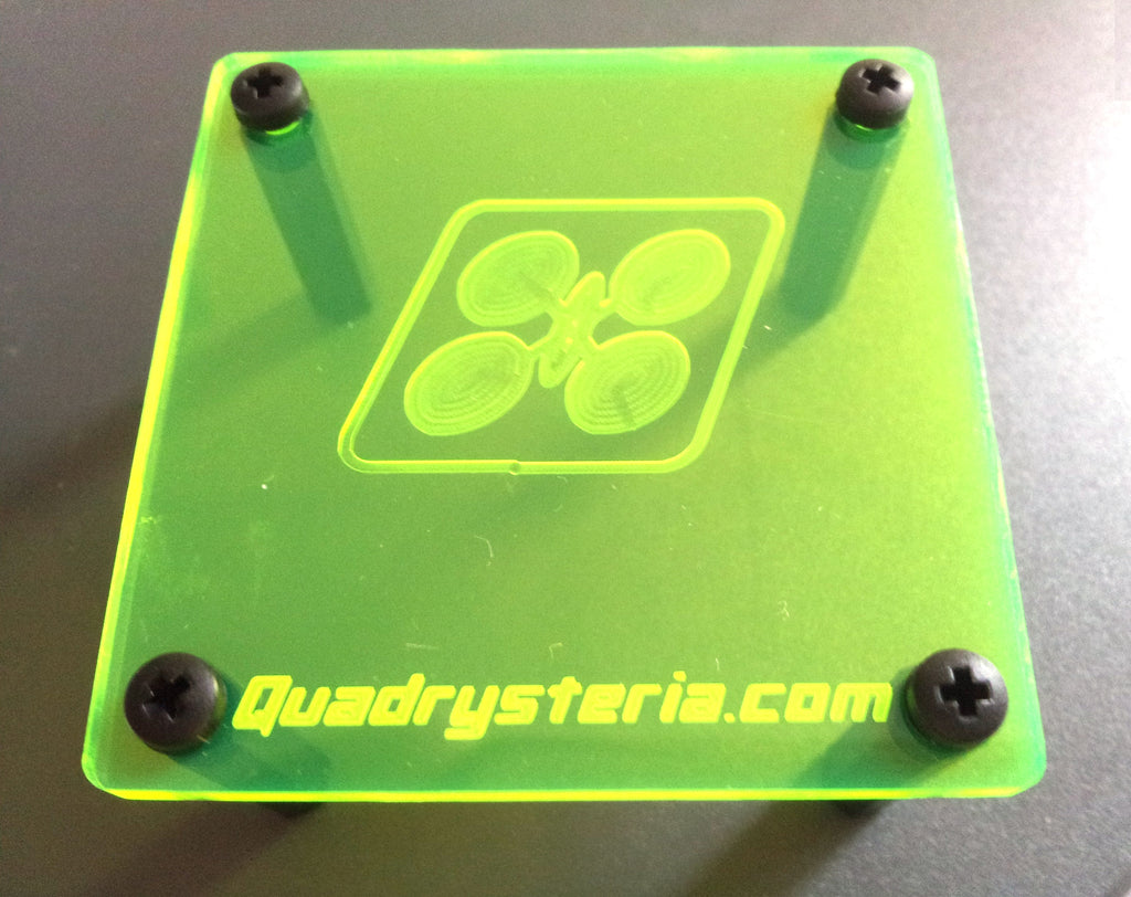 Quadrysteria 45mm FC Protective Plate - Neon Yellow