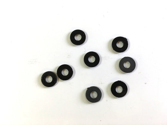 M3  black nylon washer (8 pcs)