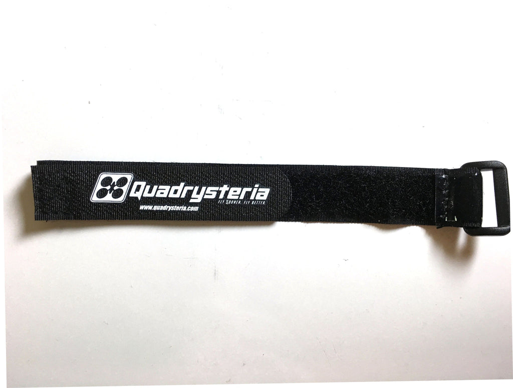 25cm Quadrysteria Rubberized Battery Strap