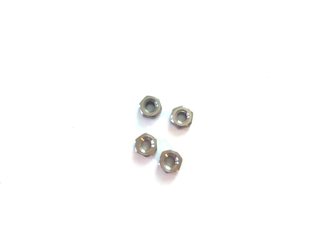 M3 nuts - titanium alloy (4 pcs)