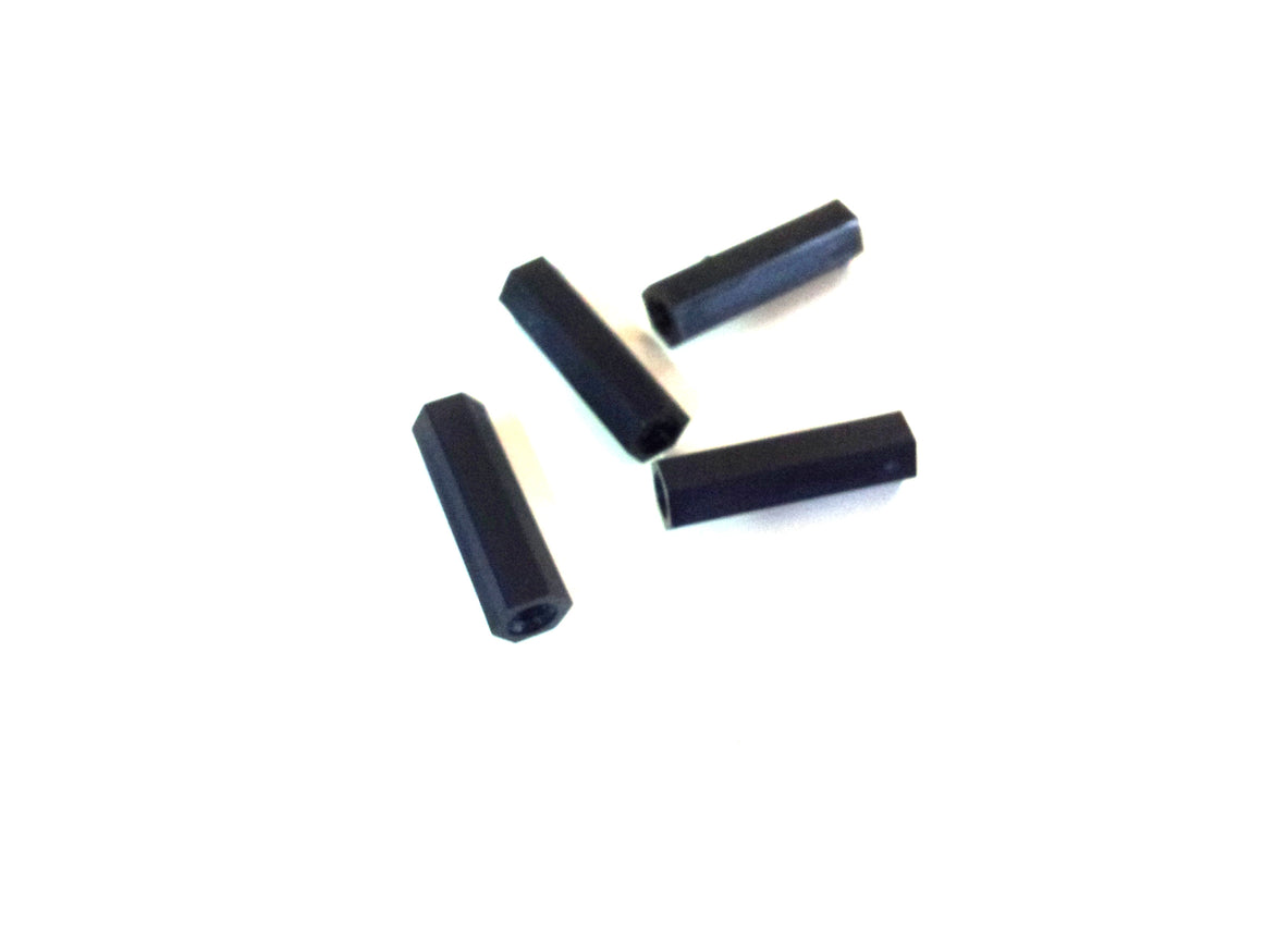 M3 x 20mm Nylon Tapped Standoffs (4 pcs)