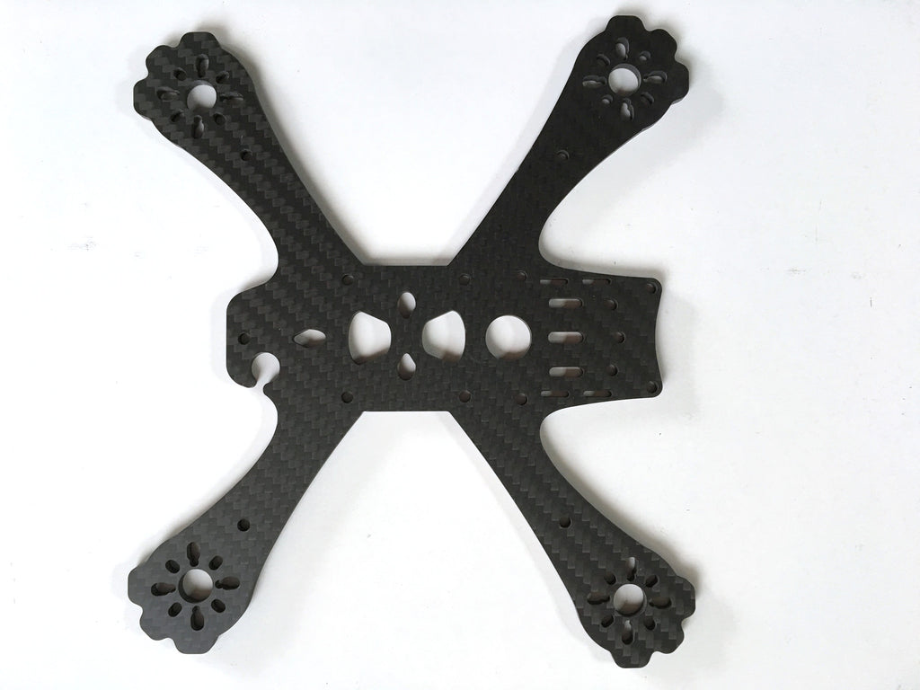 "RUSH 4"" Main plate 4.0mm"