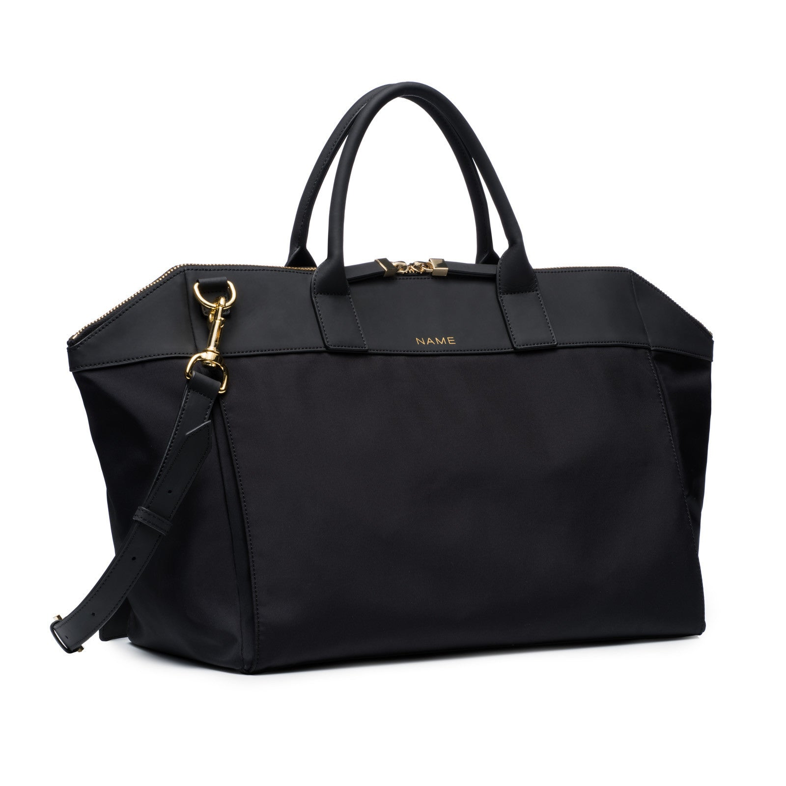 Matte Black Satchel