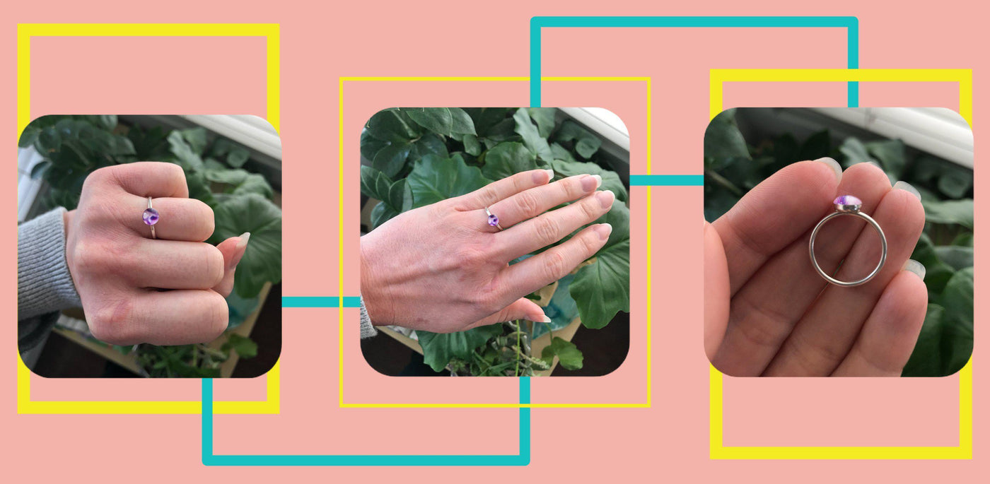Design Inspiration: Forget Me Not Ring for Lupus Research-Revive Jewelry