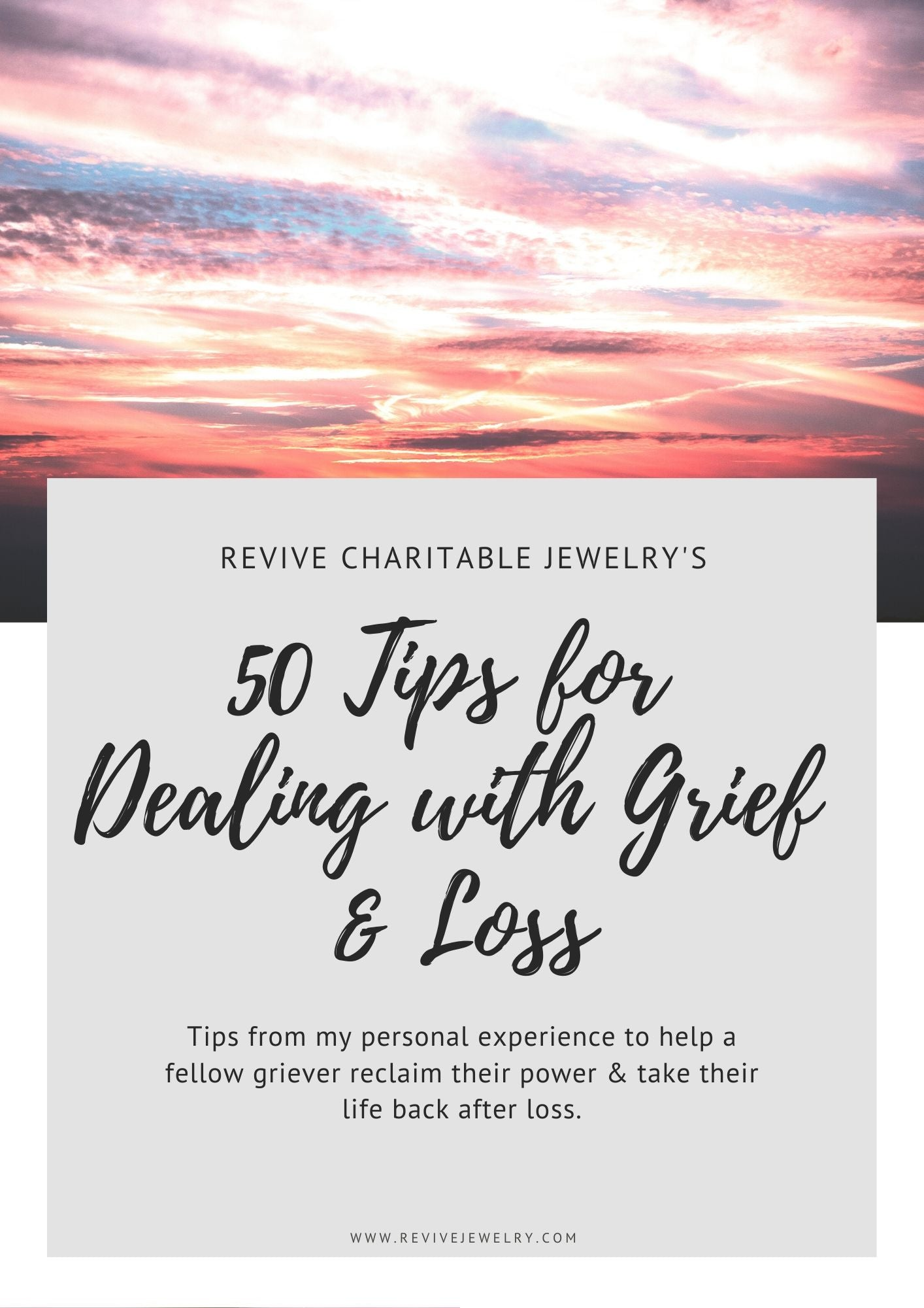 50 tips for dealing with grief and loss