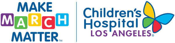 make march matter and children's hospital los angeles logos