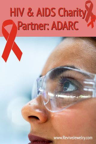 HIV & AIDS charity partner spotlight, Aaron Diamond AIDS Research Center and awareness jewelry that gives back