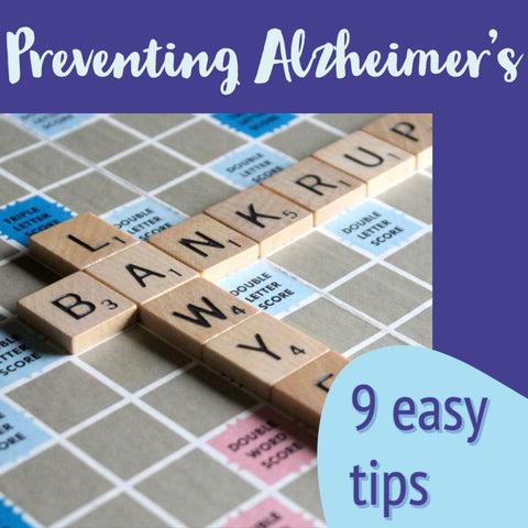 9 easy tips to prevent Alzheimer's