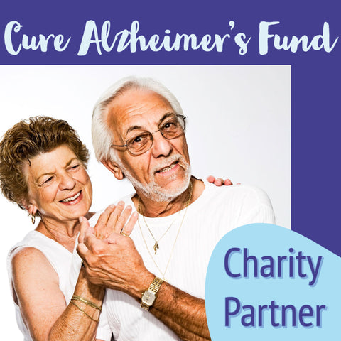 elderly couple holding hands cure Alzheimer's Fund charity fund