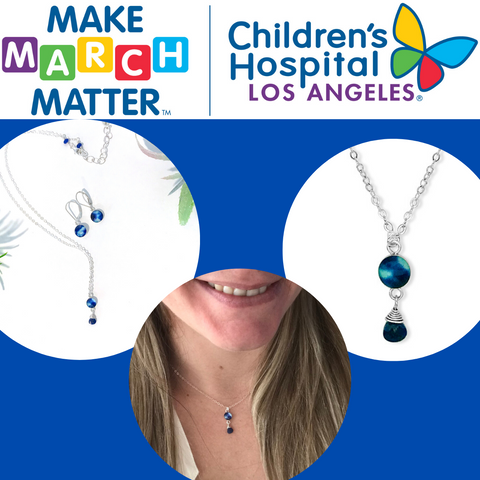 children's hospital los angeles partner spotlight and necklace to help kids