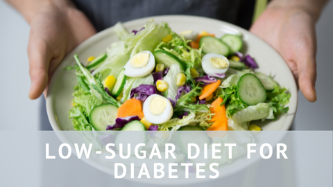 Low Sugar Diet for Diabetes healthy salad with light dressing