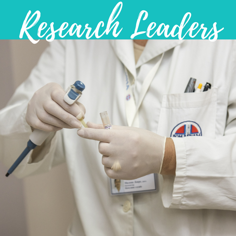 Research leaders Diabetes Research Institute doctor testing samples