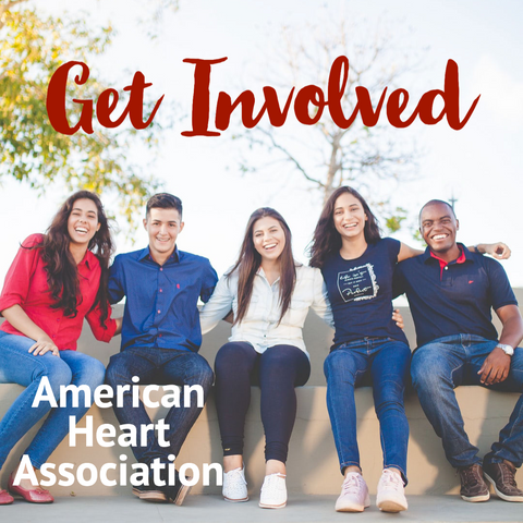 people sitting on a bench arm in arm get involved american heart association