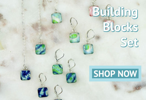 building blocks set choose your cause awareness jewelry for a cause