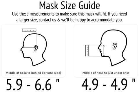 face mask sizing guide