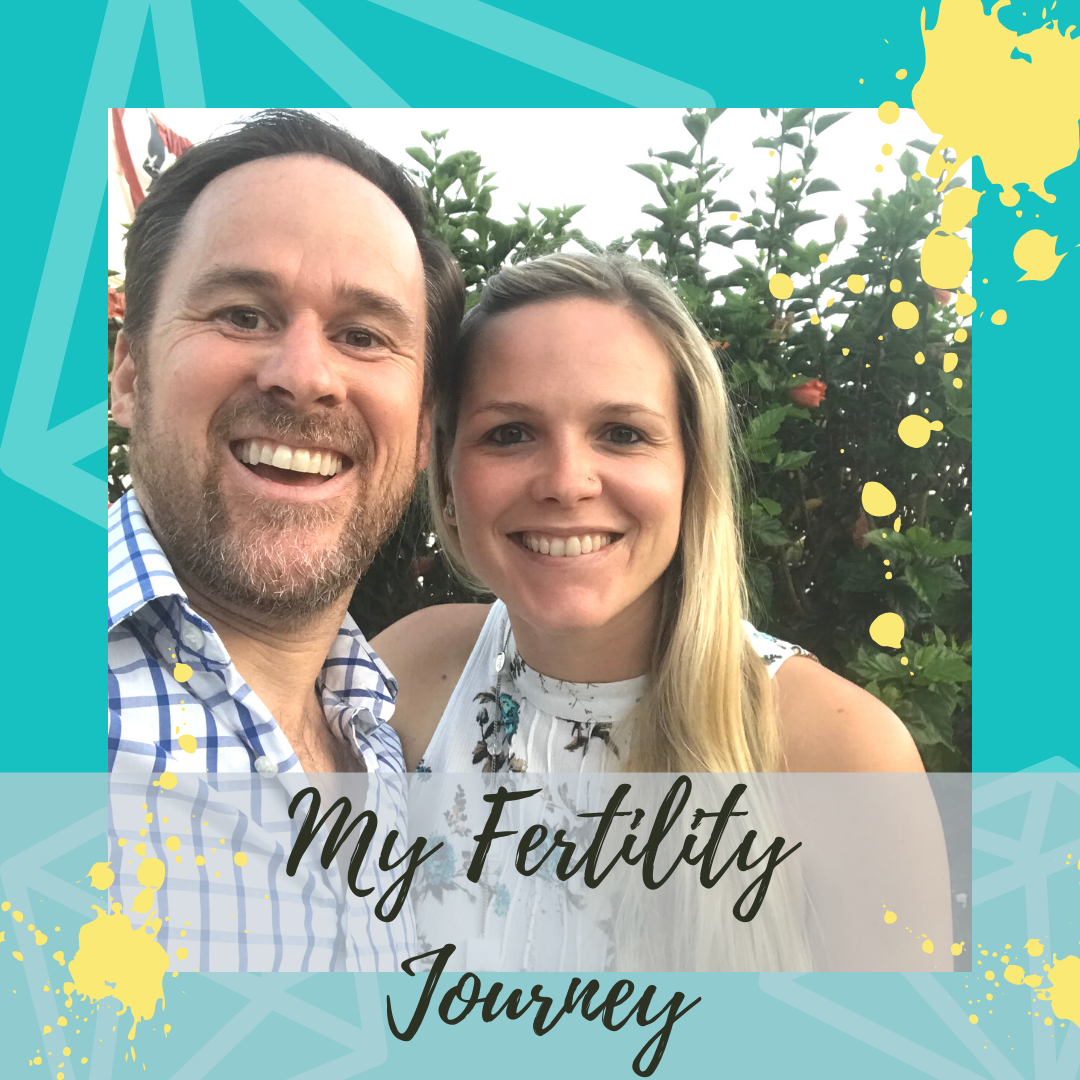 Nikki and her husband Rob smiling My fertility journey