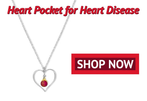 shop now heart pocket necklace for heart disease awareness