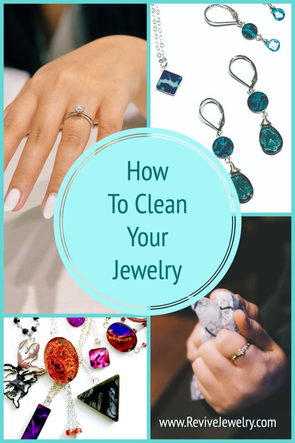 how to clean sterling silver and 14k gold filled jewelry, homemade options, chemical free
