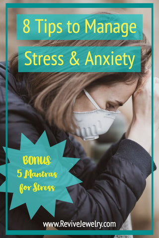 8 tips to manage stress and anxiety pin