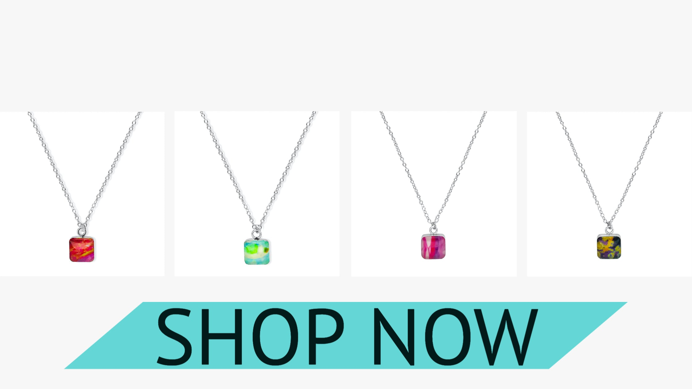 building blocks necklace for illness, disease and cancer awareness that gives back to research